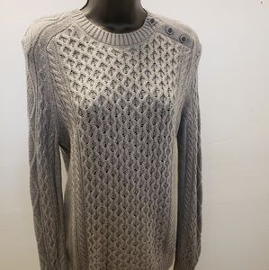 Tory Burch Gray top sweater pullover